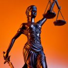 Lady Justice - symbol of American legal system