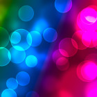 defocused colorful lights